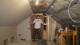 Делаем ремонт на чердаке. Гнездо для блогера ч.1
