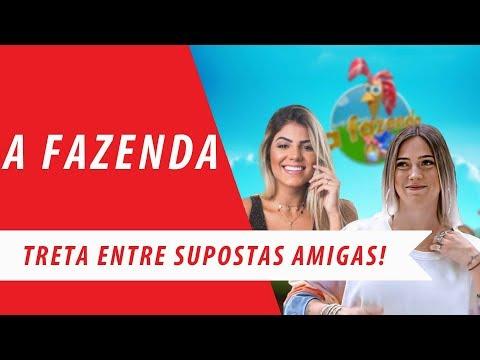 A FAZENDA: TATI DIAS, HARIANY, BIFÃO E STÉFANI BAYS PARECEM AMAR UMA TRETA! (2019) thumbnail