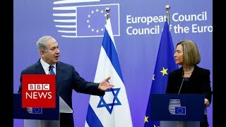 Israeli PM Benjamin Netanyahu says he expects European countries to...