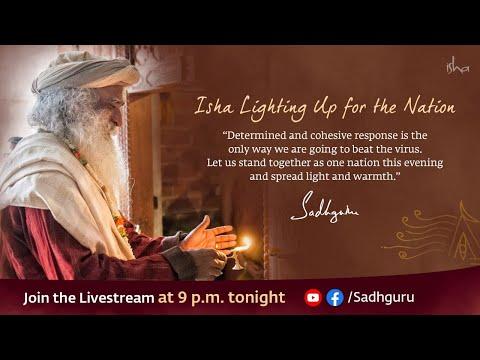 Lighting Lamp #9pm9min – With Sadhguru in Challenging Times – 05 Apr #9pm9min