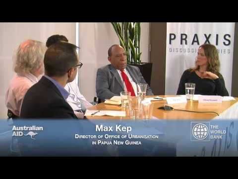 Praxis Discussion Series: Urbanisation