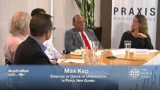 Praxis Discussion Series: Urbanisation
