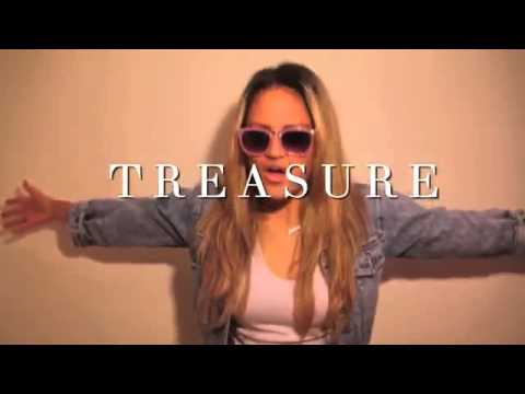 Bruno Mars   Treasure Arlene Zelina Cover)