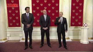 Tổng Thống Putin Chuyển Quyền Đăng Cai World Cup cho Qatar | Bản Tin World Cup 2018