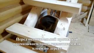 видео Деревянные ступени для бетонной лестницы: фото и советы по монтажу