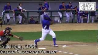 Yasiel Puig Prospect Video, Los Angeles #Dodgers