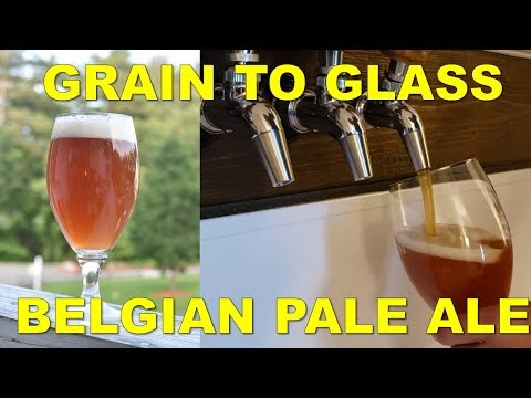 Brewing a Belgian Pale Ale/Singel/Table Beer| Grain to Glass | Classic Styles