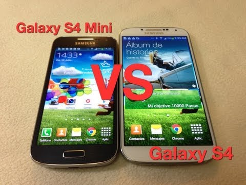 Galaxy S4 Mini VS Galaxy S4 Diferencias y similitudes