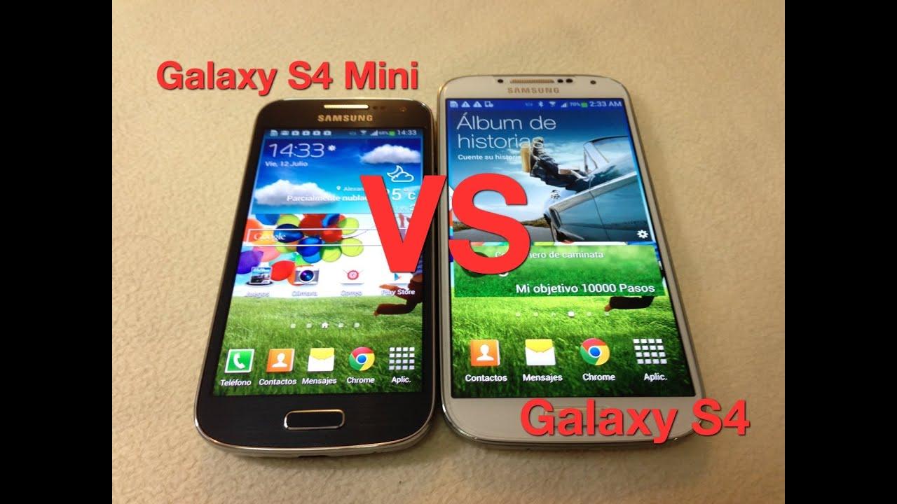 Galaxy S4 Mini VS Galaxy S4 Diferencias y similitudes ...