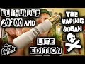 El Thunder 20700 & Lite Edition Mech Mods | Viva La Cloud | The Vaping Bogan