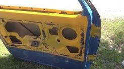 9mm vs 45 ACP truck door penetration test