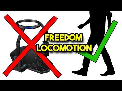 FREEDOM LOCOMOTION VR - Caminar en Realidad Virtual sin aparatos??