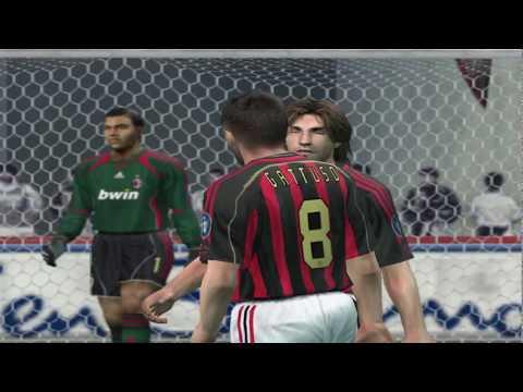 Pro Evolution Soccer 6 - 2006 - Real Madrid C.F.  VS  A.C. Milan (PC)