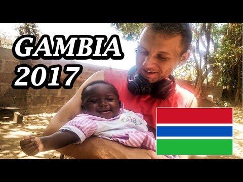 My Expat Diary - Gambia in 4K UHD (Banjul, Sukuta, Coconut Island) 05/01/2017
