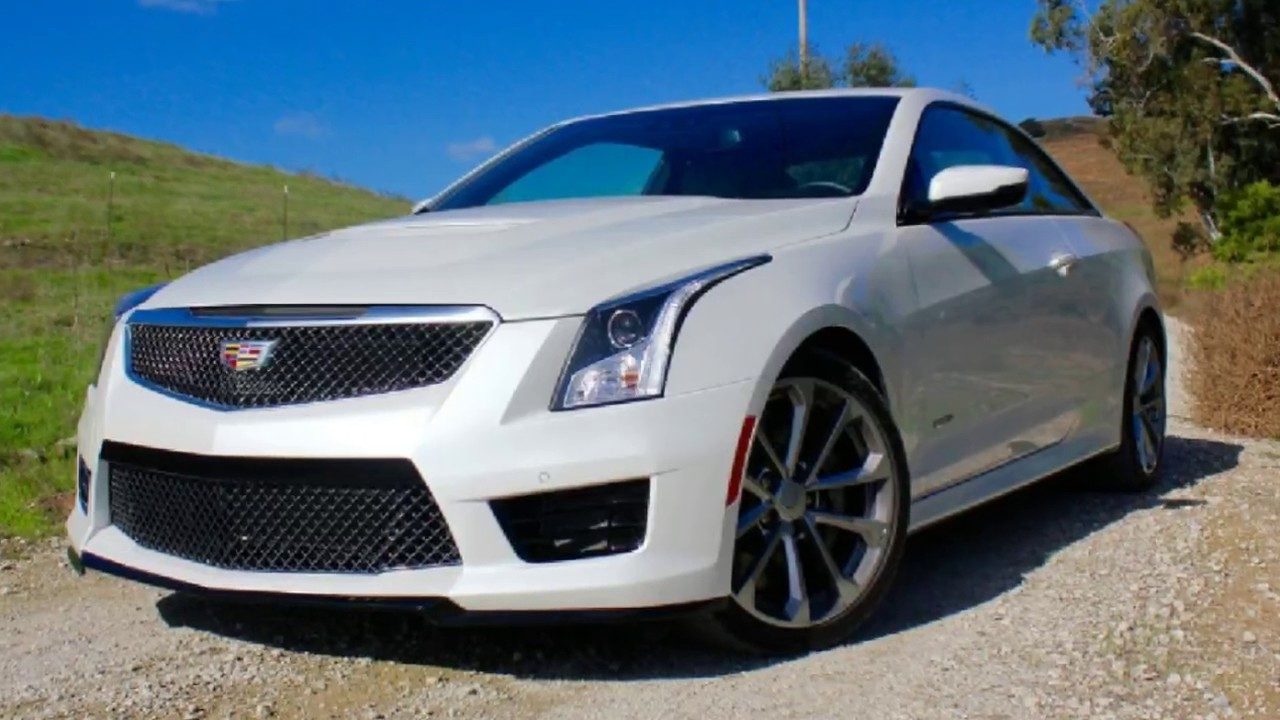 hot today 2016 cadillac ats v coupe review youtube rh youtube com