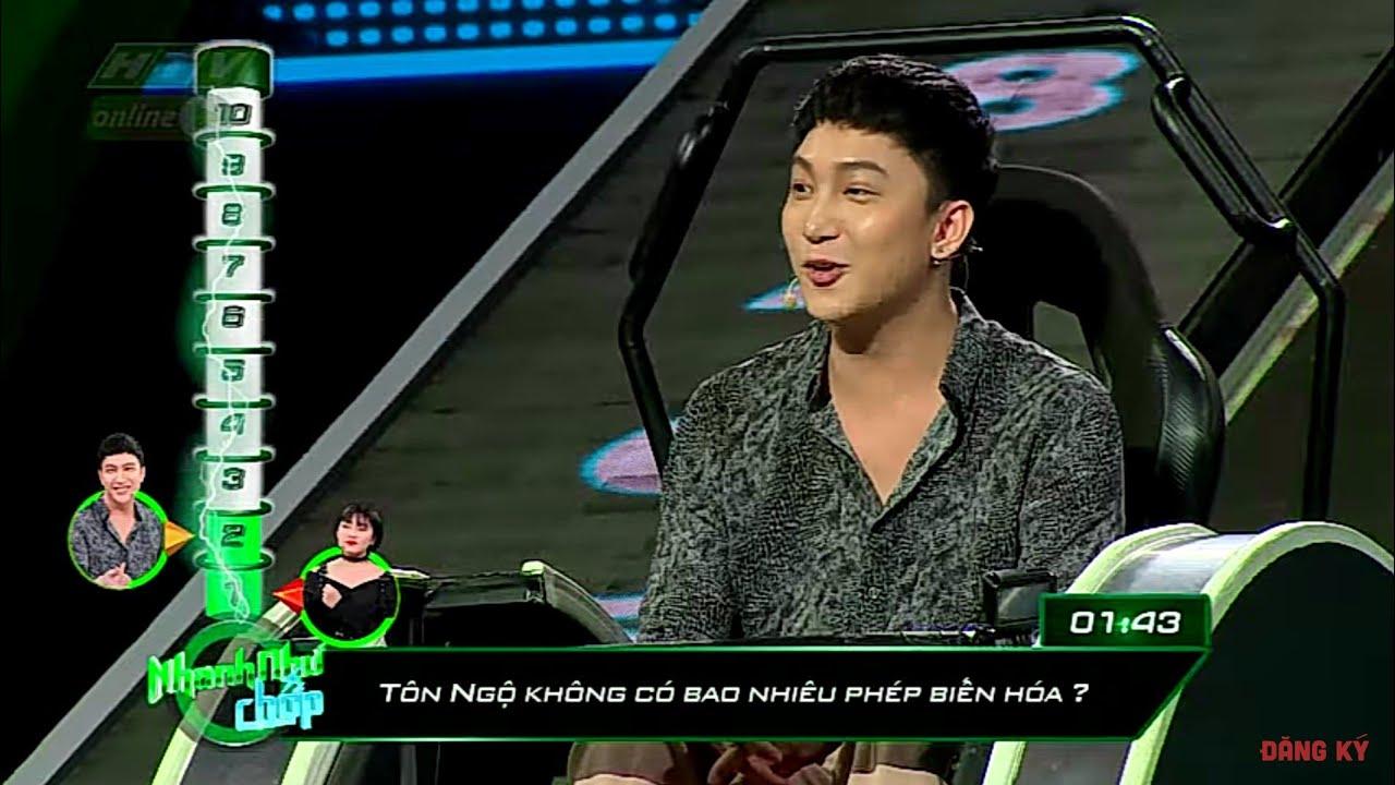 image Bê Trần trúng tủ với loạt câu hỏi Tây Du Ký | NHANH NHƯ CHỚP NNC #9 MÙA 2 | 25/5/2019
