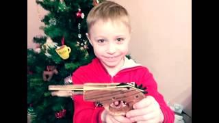 Деревянный пистолет Матвея