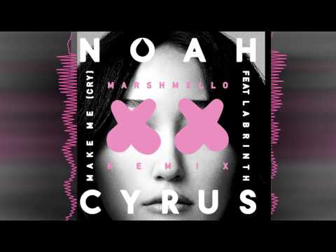Noah Cyrus - Make Me Cry feat Labrinth Marshmello Remix