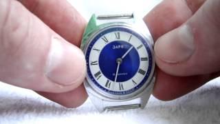 Vintage Ladies watch Zarya (Sunrise) Like NEW Soviet watch Vintage