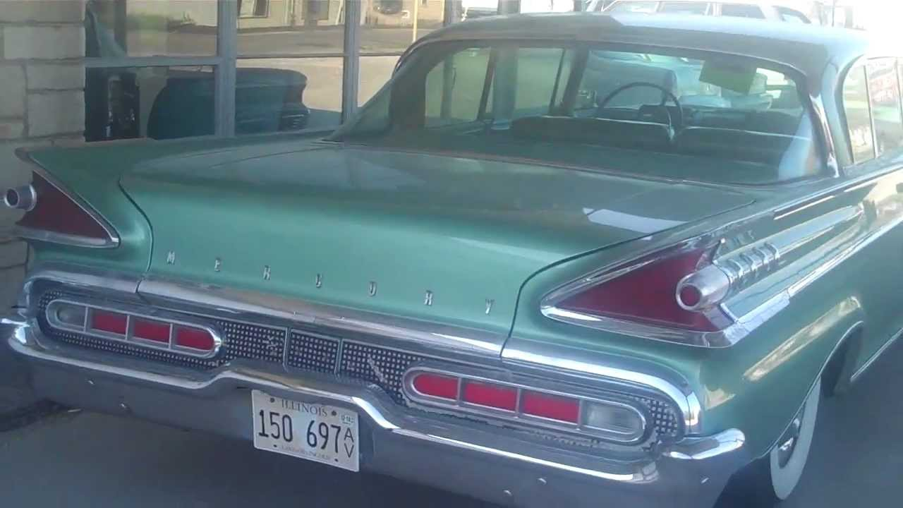 1959 mercury montclair for sale youtube. Black Bedroom Furniture Sets. Home Design Ideas