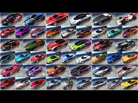 Asphalt 8, ALL B-Class cars MAX PRO, METAL SEASON, Dubai