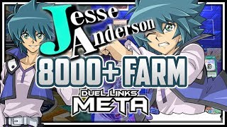 How to Farm Jesse Anderson F2P, Lvl 40, 8000 Points [Yu-Gi-Oh! Duel Links]