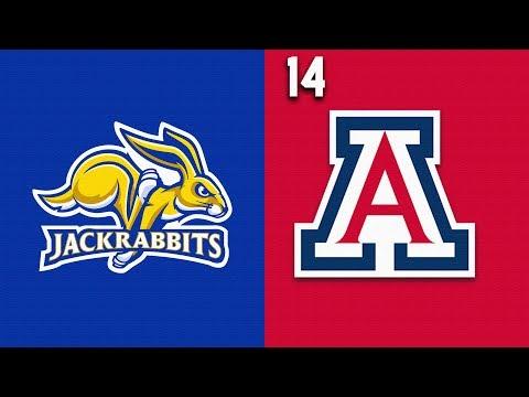 2019 College Basketball South Dakota State Vs #14 Arizona Highlights