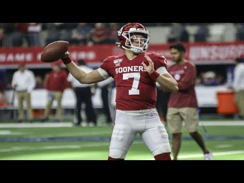 The Next Qb At Oklahoma Spencer Rattler Highlights Youtube