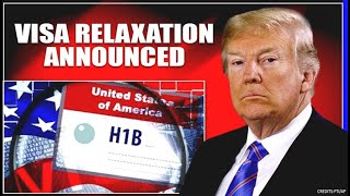 Breaking News: H1B Visa Relaxation Announced || H1B holders can enter US based on this condition