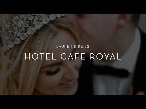 Hotel Cafe Royal Wedding Film