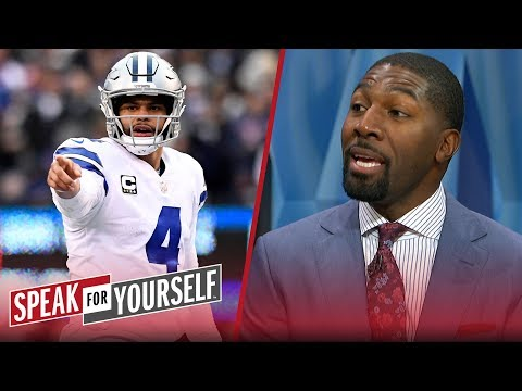 Greg Jennings doesn't think Cowboys are the weakest team in the playoffs | NFL | SPEAK FOR YOURSELF