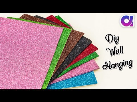 How to make wall hanging for room decor | Best out of waste | Artkala