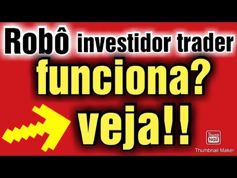 robo investidor trader mercado livre