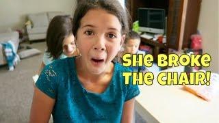 SHE BROKE THE CHAIR!! / WINNER ANNOUNCED & BOOMERANG
