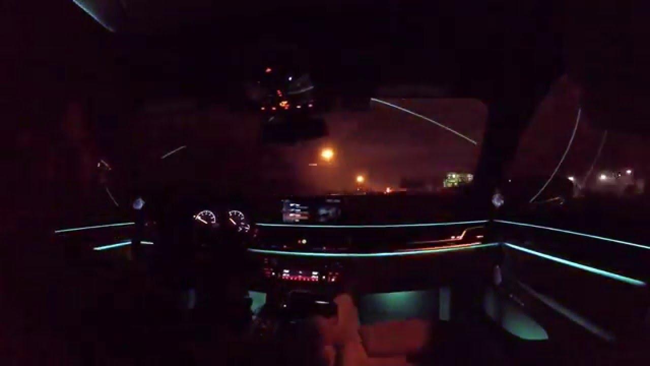 2016 BMW 7 Series Time Lapse Interior Lighting