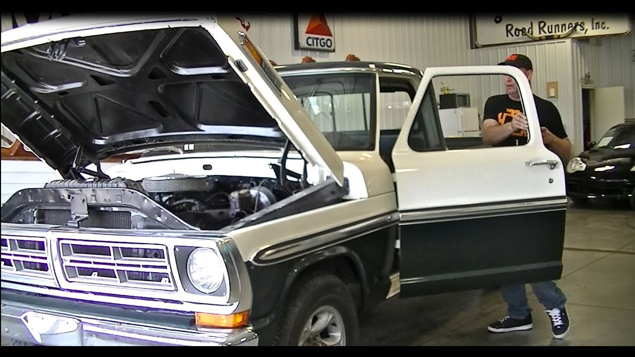 50l Coyote Engine Swap F250 Build How To F150 F100 1972 71 Youtube Wiring Diagram For A 73 78 Ford