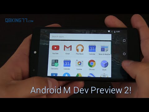 Android Marshmallow Dev Preview 2: New Features Added