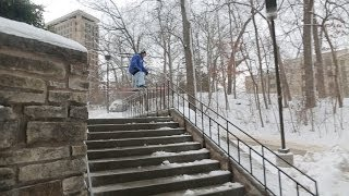 Partly Cloudy Bonus Clip - Alex Bellemare Rail Ledge Transfer