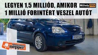 MűhelyPRN 71.: Legyen 1,5 milliód, amikor 1 millió forintért veszel autót