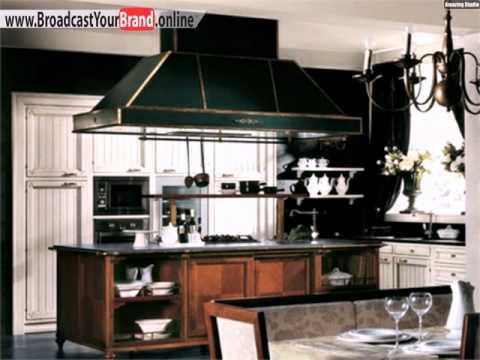 Marmor Arbeitsplatte klassische Küche