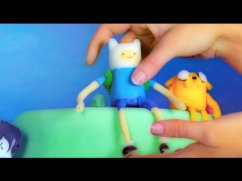 Cake Design Adventure Time : Adventure Time Cake - YouTube
