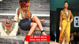 Mode sénégalaise, Mode africaine WAX : Plus de 50 modèles de tenues et robes en wax. La TOTALE !!