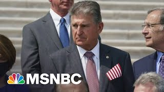 Manchin Suggests Pausing Talks On $3.5T package Until 2022: Axios