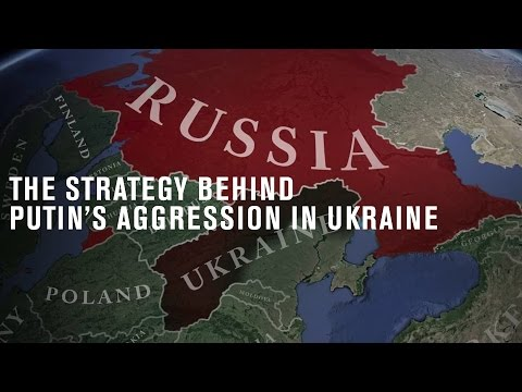 The strategy behind Putin's aggression in Ukraine