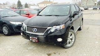 Lexus RX 450H 2010 Videos