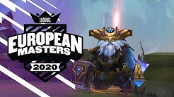#EUMasters Highlight Montage