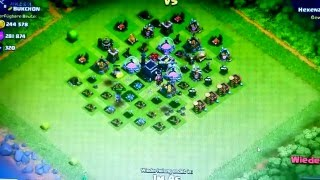 Clash of Clans Lets Play Hexenzirkel Mauern