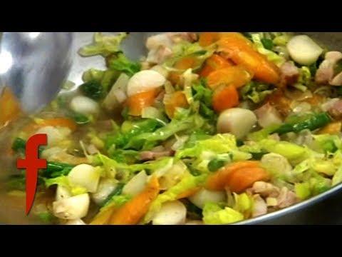 Amateur Cook Burns Soup | The F Word