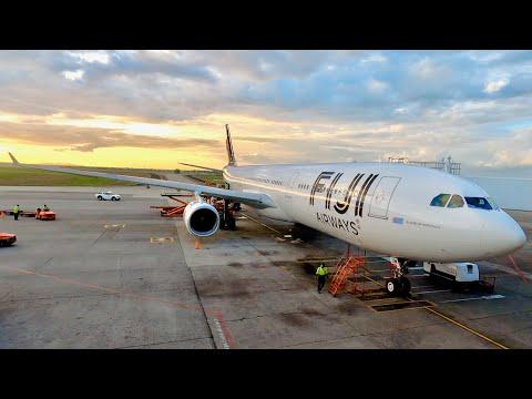 fiji-airways-business-class---airbus-a330-300---sydney-to-nadi-trip-report-(fj910)