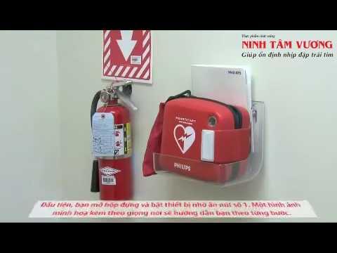 Hướng dẫn sử dụng máy khử rung tim công cộng